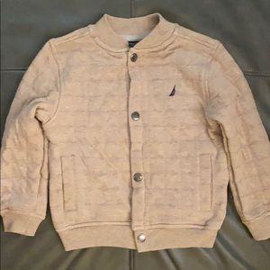 Toddlers Tan  Nautica Jacket